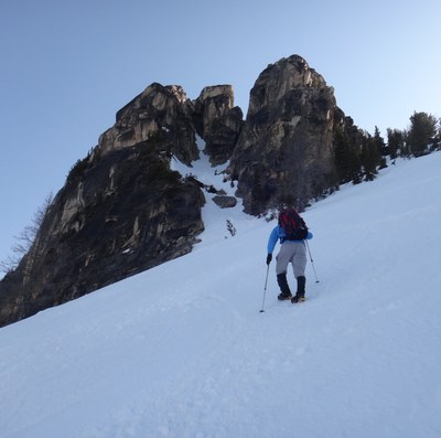 Basic Alpine Climb - South Early Winter Spire/Southwest Couloir