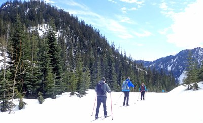 Cross-country Ski - Snoqualmie Pass Nordic Center
