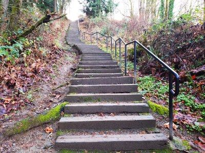 Day Hike - Forbes Creek Stairs