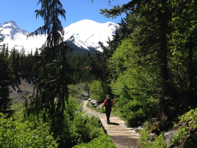 Day Hike - Glacier Basin (Mount Rainier)
