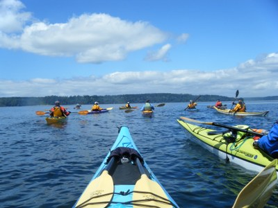 Sea Kayak - Gig Harbor Triple Cross