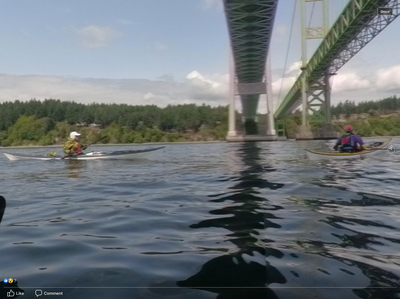 Sea Kayak - Tacoma Narrows