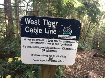 Frontcountry Trail Run - West Tiger Mountain No. 3 Cable Line