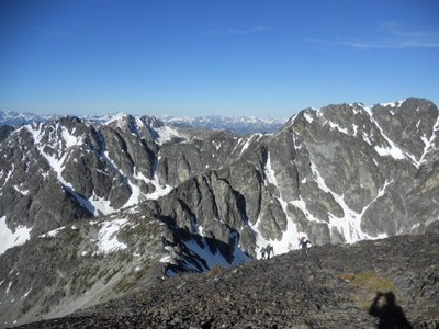 Big and West Craggy