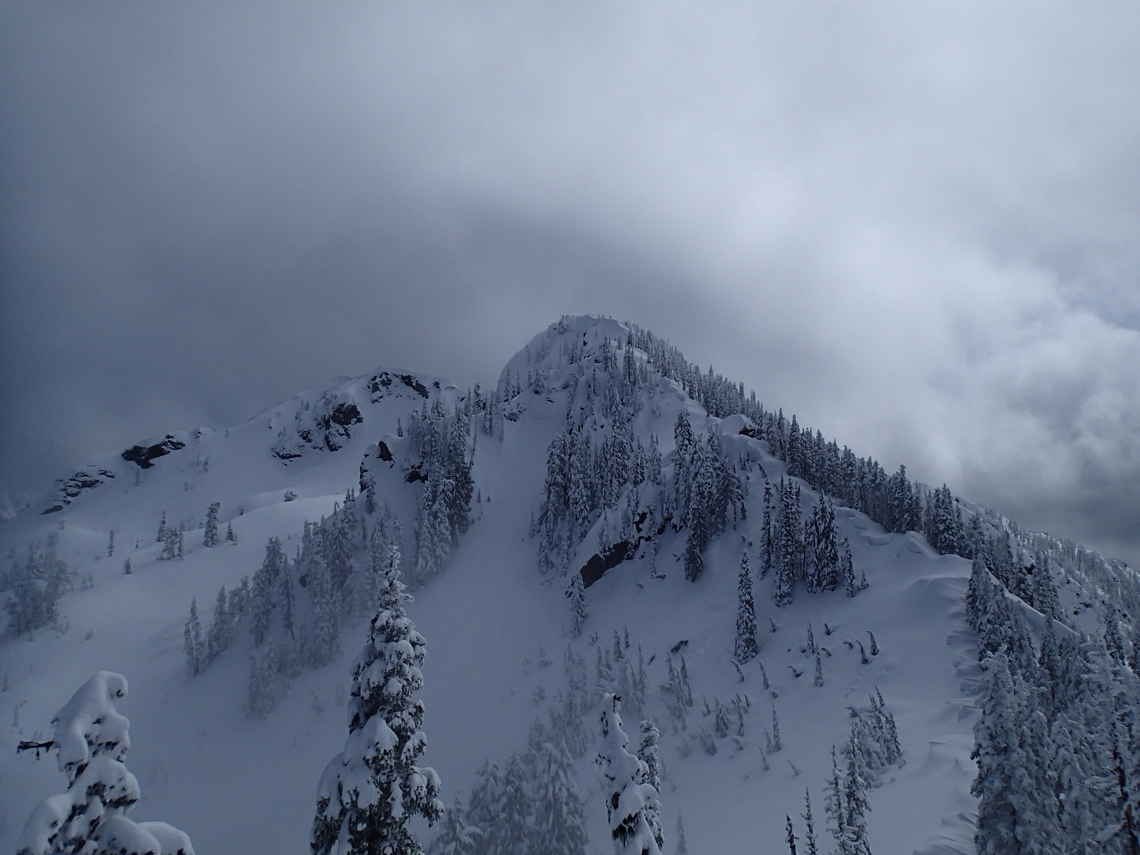 Copper Mountain ridgeline.