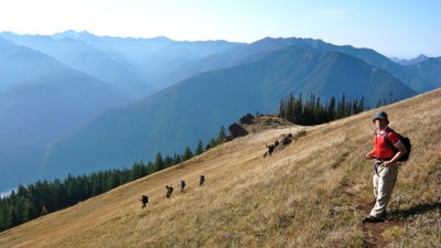 Elwha to Hurricane Hill