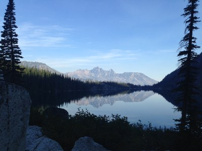 Colchuck Lake from the south
