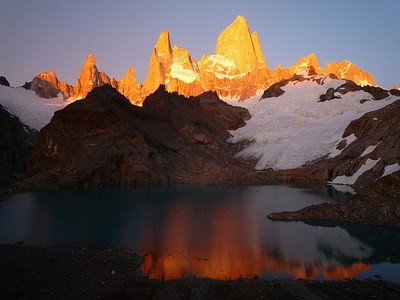 Backpack Patagonia's Fitz Roy Massif