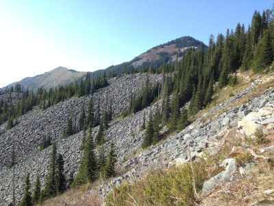 Mount Defiance from Bandera