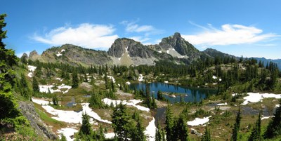 Margaret Lake, Lake Laura, Lake Lillian, Rampart & Lila Lakes