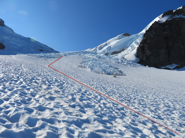 Icefall route