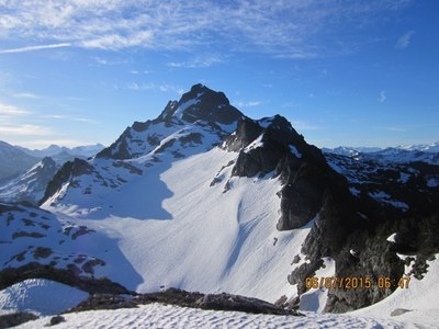 Mount Chaval/West Route