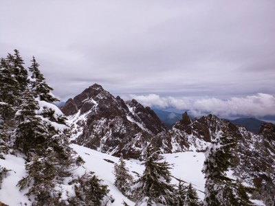 Mount Ellinor & Mount Washington