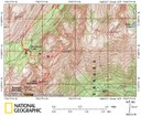 Topo Map of Iron Mountain & Mount Worthington