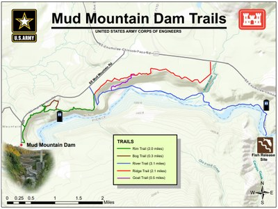 Mud Mountain Dam Trails