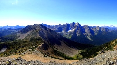 Pacific Crest Trail:  Harts Pass to Manning Park