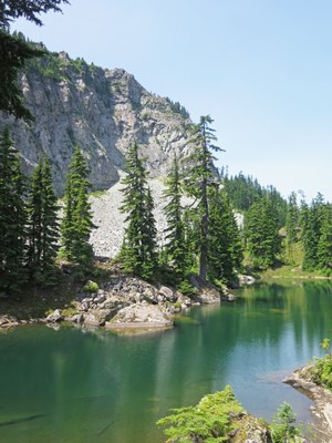 Tinkham Tarns & Twin Lakes