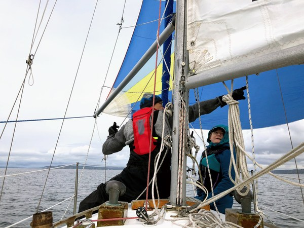 The Foredeck Union at work.
