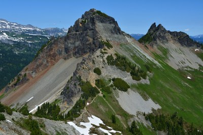 Tatoosh Range Traverse