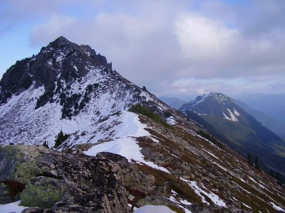 Townsend Mountain (Barclay Lake Trail)