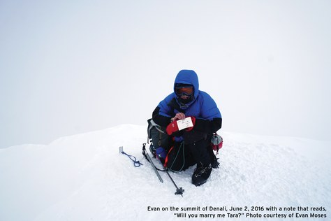 A Climbing Proposal on the Summit of Denali — The Mountaineers