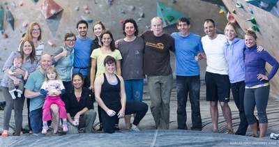 Honnold Climbing with Staff