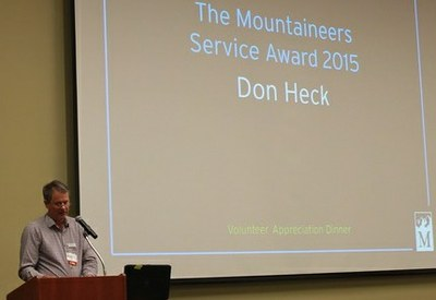 Don Hecks Award at 2016 VAD