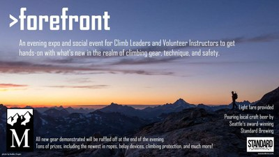 Seattle Climbing Expo - Forefront