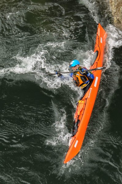 Awesome action shot of Instructor Charlie Michel