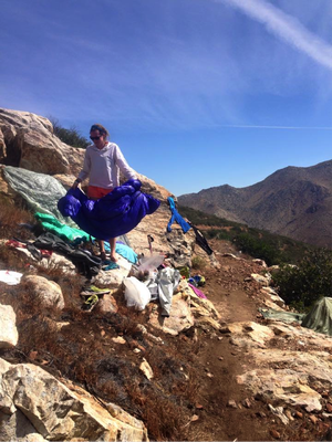 Airing it out on the PCT