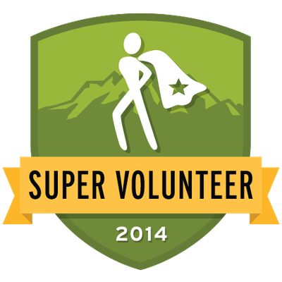 2014 Super Volunteer Badge