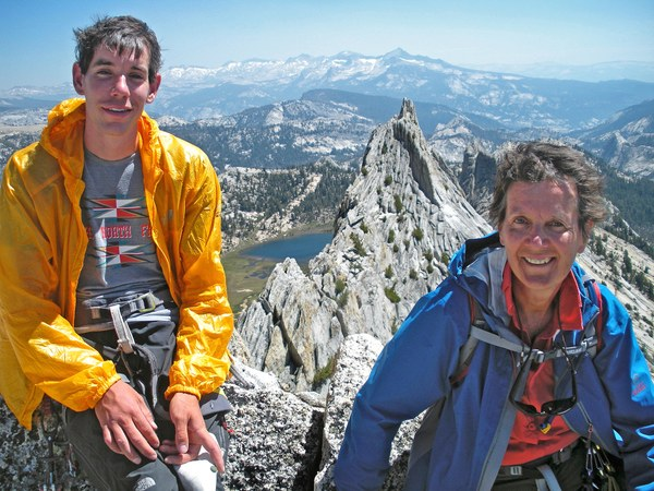Alex Honnold and mom, Dierdre