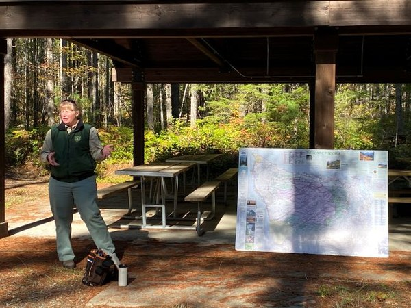 Olympic NF Recreation staff member Nicole LaGioia discussing recreation project and planning in Olympic..jpg