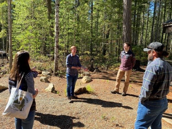 Outdoor Alliance Washington Partners meet with Rep. Kilmer in Olympic National Forest_Big Creek Campground, Hoodsport, WA_Photo Credit_Katy Crabtree.jpg