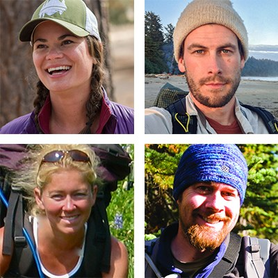 Hiking the Pacific Crest Trail authors