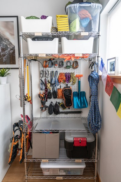 Wire Shelving and Peg Board.jpg