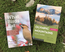 New Releases! What Birds Eat & Olympic Mountains Trail Guide