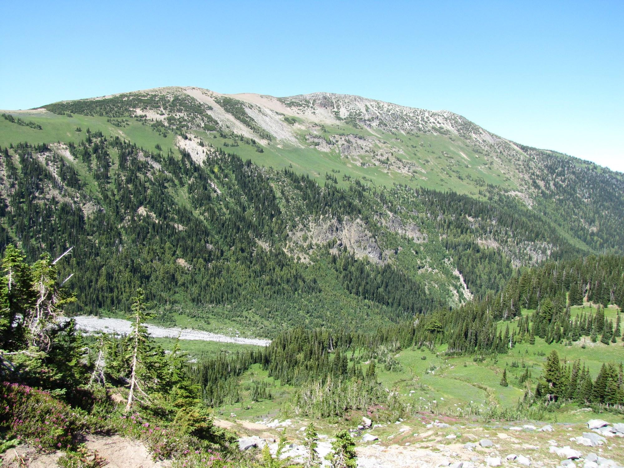 Secret Rainier | Goat Island Mountain