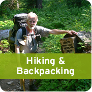 Hiking & Backpacking 181px