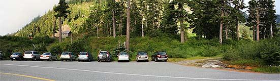 Baker Lodge Parking Lot