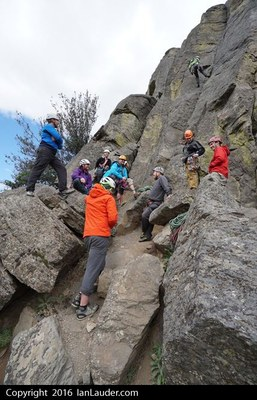 Leading on Rock 3, Everett Intermediate Climbing Course