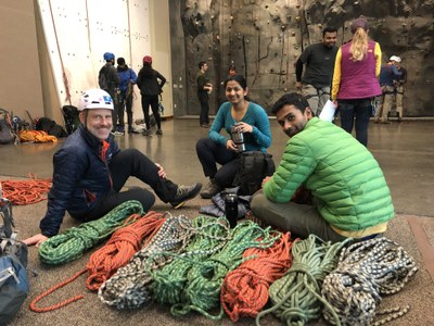 Basic Climbing Practice Session - Mountaineers Seattle Program Center