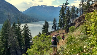Backpacking Building Blocks Student-Only Backpack - Chelan Lakeshore Trail