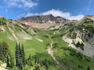 Backpacking Building Blocks Student-Only Backpack - Lily Basin, Snowgrass Flat, Cispus Basin & Elk Pass