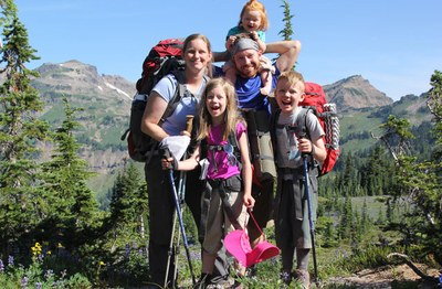 Backpacking with Kids - Foothills