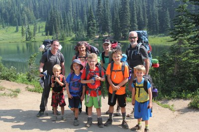 Backpacking with Kids - 2018