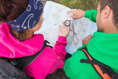 """Staying Found"" Basic Navigation for Hikers and Backpackers - Foothills  - 2016"