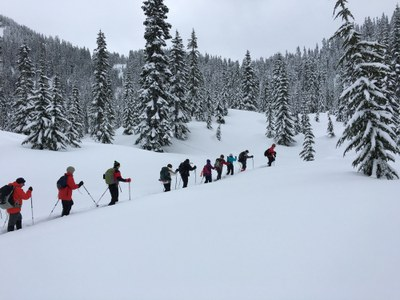 Basic Snowshoeing Lecture - South Bellevue Community Center