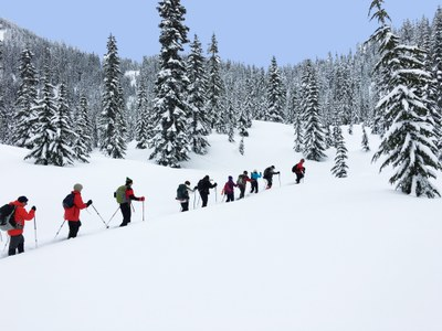 Basic Snowshoeing Equivalency - Foothills - 2016-17