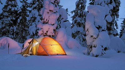 Winter Camping Field Trip